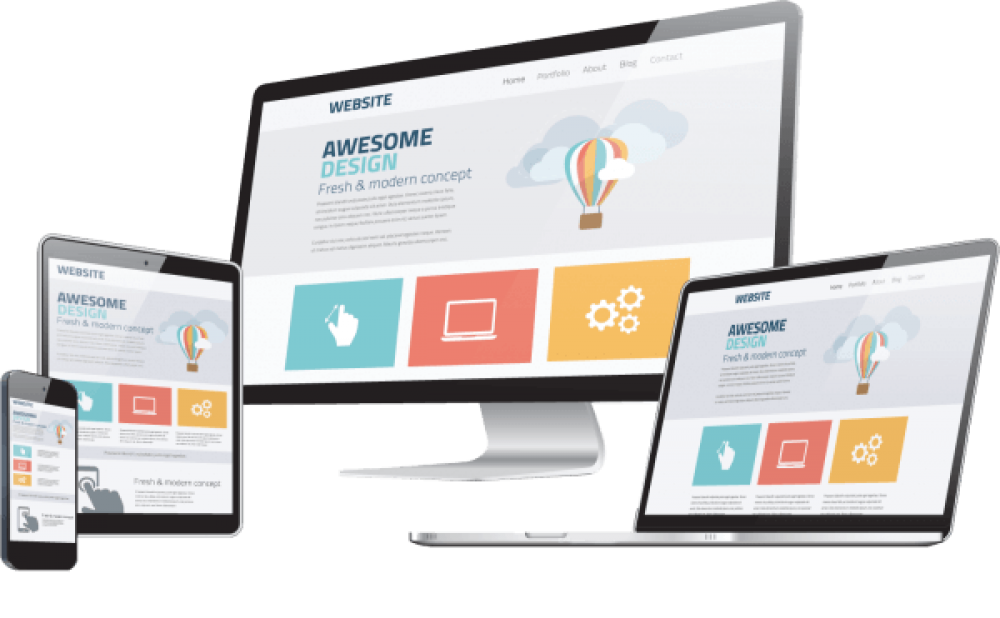 responsive websites with netimpress